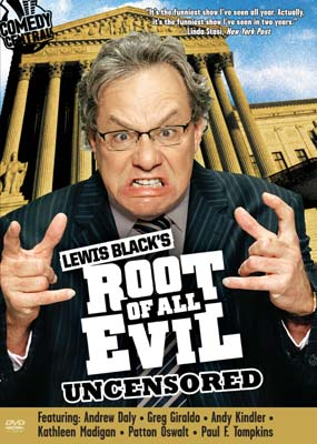 Lewis Black's Root of all Evil: Season 1 (2-disc) (DVD) - Klik her for at se billedet i stor størrelse.