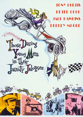 Those Daring Young Men in their Jaunty Jalopies  (DVD) - Klik her for at se billedet i stor størrelse.