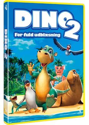 Dino for fuld udblæsning 2  (DVD) - Klik her for at se billedet i stor størrelse.