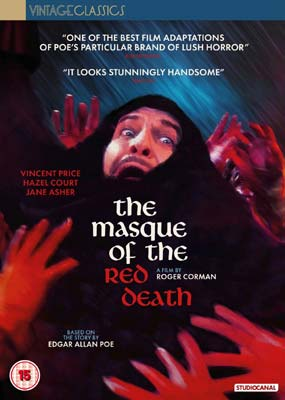 Masque of the Red Death, The  (DVD) - Klik her for at se billedet i stor størrelse.