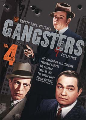 Warner Gangsters Collection, Vol. 4 (6-disc) (DVD) - Klik her for at se billedet i stor størrelse.