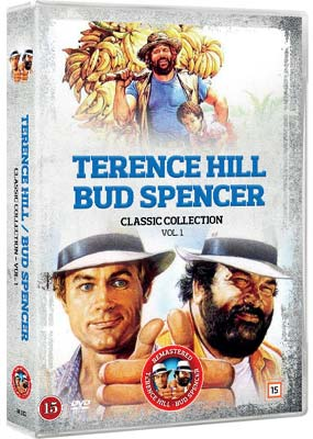 Terence Hill & Bud Spencer: Classic Collection, Vol. 1 (5 film) (DVD) - Klik her for at se billedet i stor størrelse.
