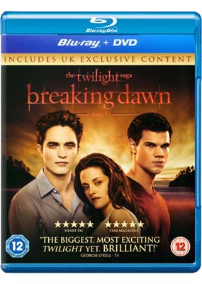 Twilight Saga, The: Breaking Dawn - Part 1 (Blu-ray & DVD) (BD) - Klik her for at se billedet i stor st�rrelse.