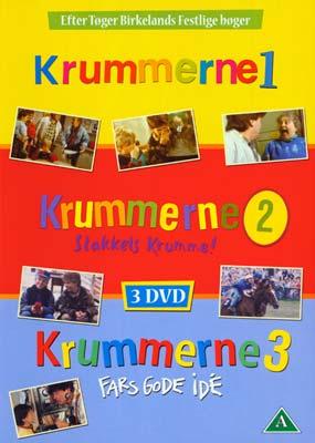 Krummerne 1-3 (3 film) (DVD) - Laserdisken.dk - salg af DVD og Blu-ray film.