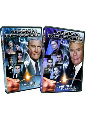 Mission Impossible: The Complete Series - '88 & '89  (2-pack) (DVD) - Klik her for at se billedet i stor størrelse.
