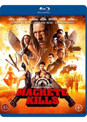 Machete Kills (Blu-ray) (BD) - Klik her for at se billedet i stor størrelse.