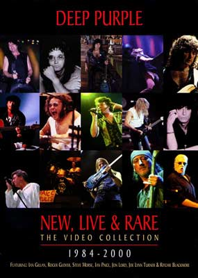 Deep Purple: New, Live and Rare: 1984-2000  (DVD) - Klik her for at se billedet i stor st�rrelse.