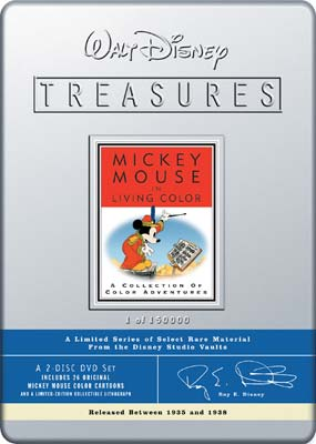 Mickey Mouse in Living Color: Volume 1 (Walt Disney Treasures) (DVD) - Klik her for at se billedet i stor størrelse.