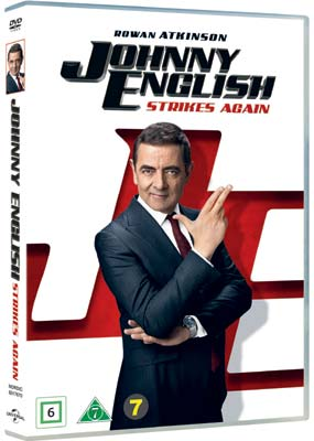 Johnny English Strikes Again  (DVD) - Klik her for at se billedet i stor størrelse.
