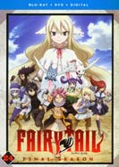 Fairy Tail: Part 24 (Episodes 291-303) (Blu-ray & DVD)