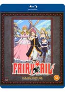 Fairy   Tail:  Collection    Six (Episodes 121-142) (Blu-ray)